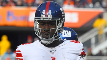 New York Giants' Markus Golden earns bonus after he's awarded 10th sack of season