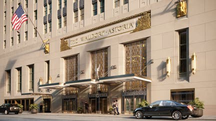 Waldorf Astoria renovations near completion. Take a look inside