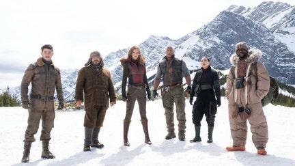 'Jumanji: The Next Level' ends 'Frozen 2' box office top spot run