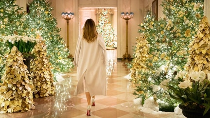 What it takes to deck the halls for Christmas at the White House