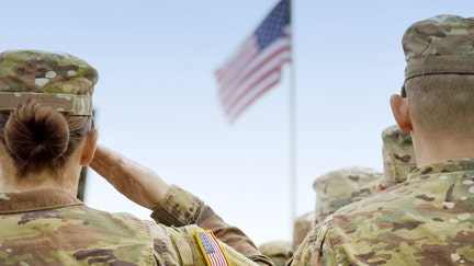 Combat Flags uses soldiers' old uniforms to help save their lives