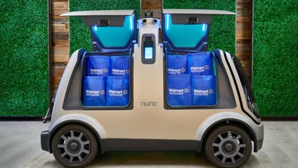 Walmart to test self-driving vehicle grocery delivery