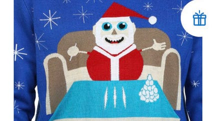 Walmart apologizes for sweater featuring Santa with cocaine