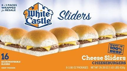 White Castle recalls frozen hamburger products over Listeria fear