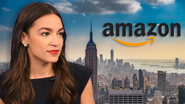 AOC claims she 'saved the public billions' as Amazon 'returns' to NYC