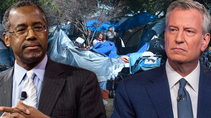 Ben Carson urges local officials to 'stop throwing firebombs' amid homelessness