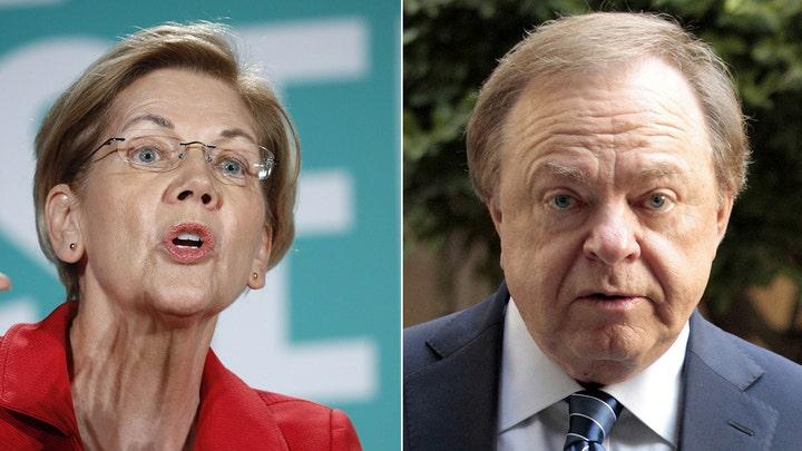 Oil billionaire schools Elizabeth Warren on energy industry