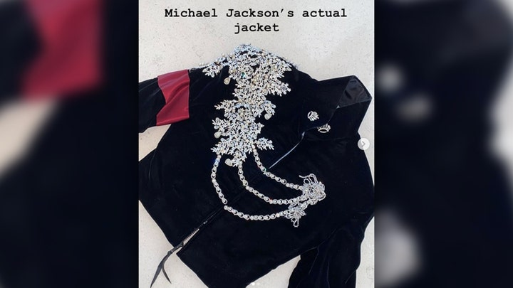 Holiday 'Thriller': Kim Kardashian gives daughter a $65K Michael Jackson jacket for Christmas