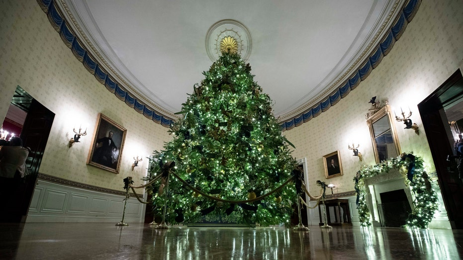 Whitehouse Christmas Trees 2020 What it takes to deck the halls for Christmas at the White House