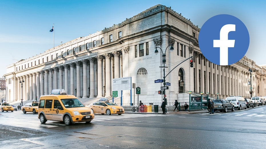 The James A. Farley Post Office Building in Manhattan
