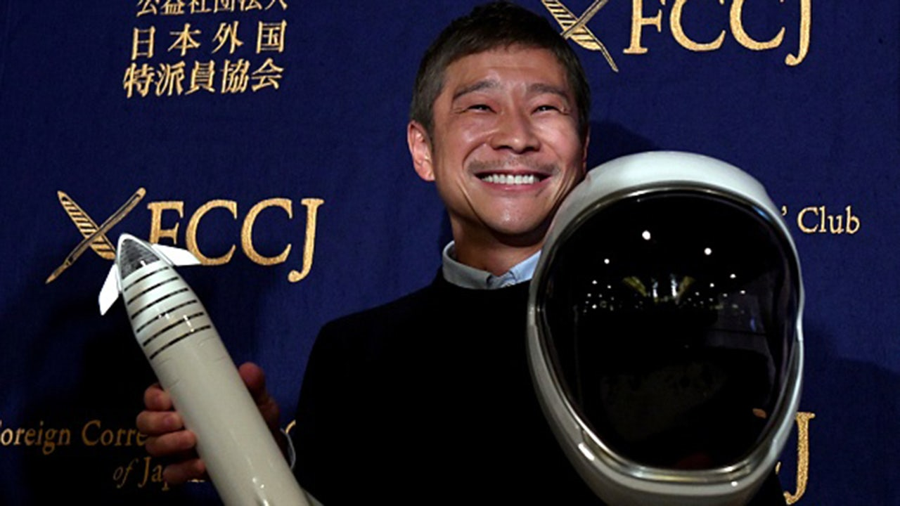 Japanese billionaire cancels search for SpaceX girlfriend to join him around the moon