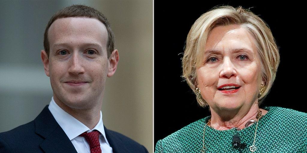Clinton: Facebook's Zuckerberg has authoritarian views