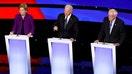 Warren unites with Sanders to jab Biden over Social Security record