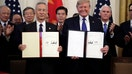 'Doesn't get any bigger': US, China sign historic 'phase one' trade deal
