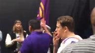 WATCH: College football championship hero struts off field with $100K, cigar