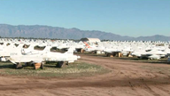 US Air Force's 'boneyard' saving taxpayers millions on aircraft components
