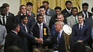 President Trump celebrates LSU Tigers' national championship