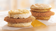 McDonald's adds 2 chicken sandwiches to breakfast menu