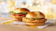 McDonald's entering chicken sandwich wars amid increased demand for sandwich-sized chicken breasts