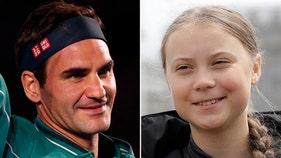 Roger Federer defends deal after facing criticism from climate activist Thunberg