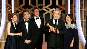 """""""1917,"""" """"Once Upon a Time ...in Hollywood"""" win Golden Globes"""