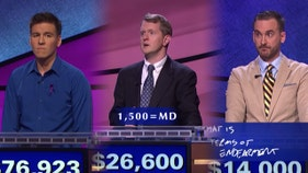 'Jeopardy!: GOAT' returns for round 4 -- and the series could end tonight
