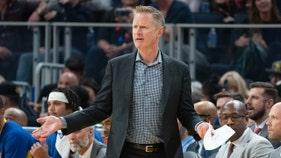 Critics of Warriors coach's Iran rant point to NBA's China silence