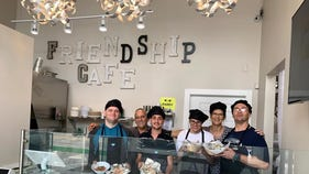 Community organization opening cafe staffed by workers with special needs
