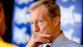How Steyer's own party would decimate his wealth
