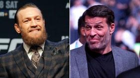 Embattled business guru Robbins helped McGregor to stunning KO win