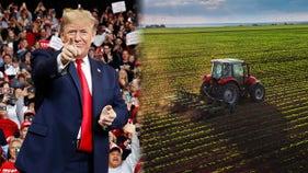 Trump: Farmers should 'buy larger tractors' ahead of China trade deal