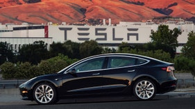 New Tesla registrations down almost 50% in California