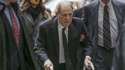 Weinstein threatened with jail time for using cellphone on Day 1 of trial