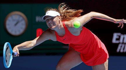Sharapova's Australian Open loss leaves her career uncertain