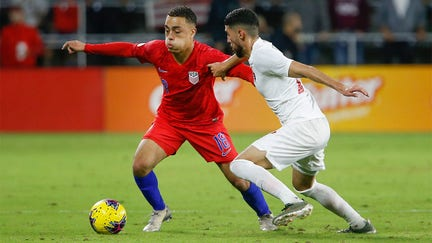 US Soccer's Sergino Dest leaves Qatar training trip over Iran fears