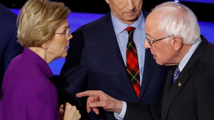 Warren-Sanders feud threatens to shake up Democratic primary