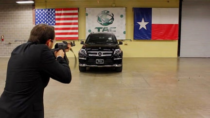 Texas firm offers discreet bulletproof protection in family cars fit for James Bond