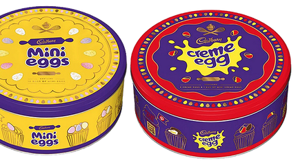 Cadbury's Easter egg tins cause outrage among chocolate fans