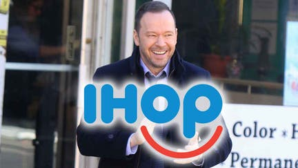 Donnie Wahlberg leaves IHOP server a $2,020 tip on New Year's Day