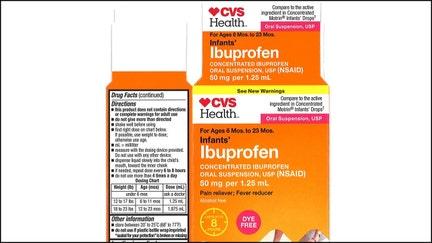 CVS, Walmart infant ibuprofen recall expanded