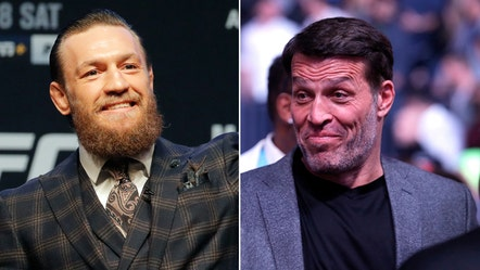 Conor McGregor was with Tony Robbins in lead-up to UFC 246 victory