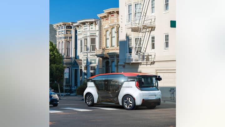 GM debuts autonomous car without a steering wheel