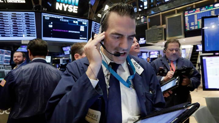 Stocks trade lower on concern about China virus