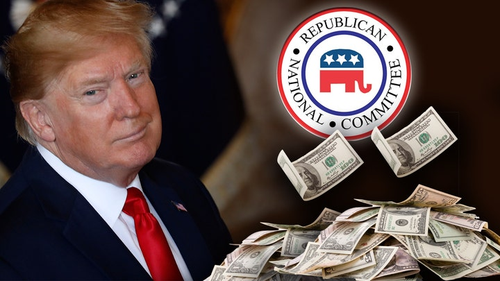 Trump campaign 'will want for nothing' as RNC assembles staggering war chest