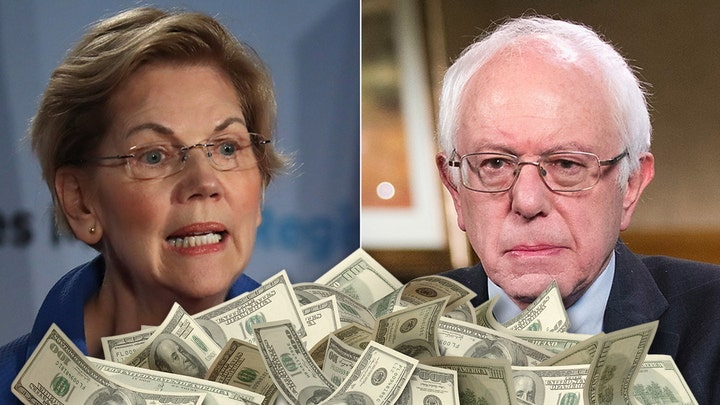 Wealth taxes proposed by Warren, Sanders could cost workers $1 trillion