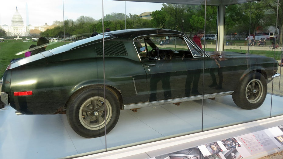 Image result for steve mcqueen bullitt car