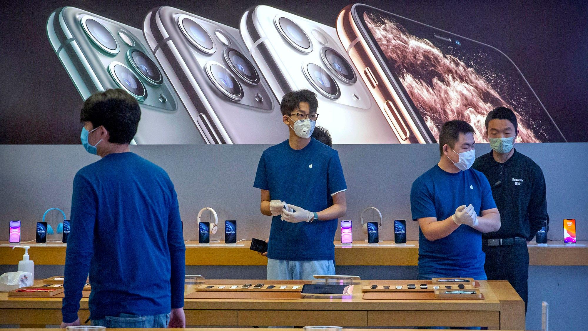 Apple's coronavirus problems may just be starting