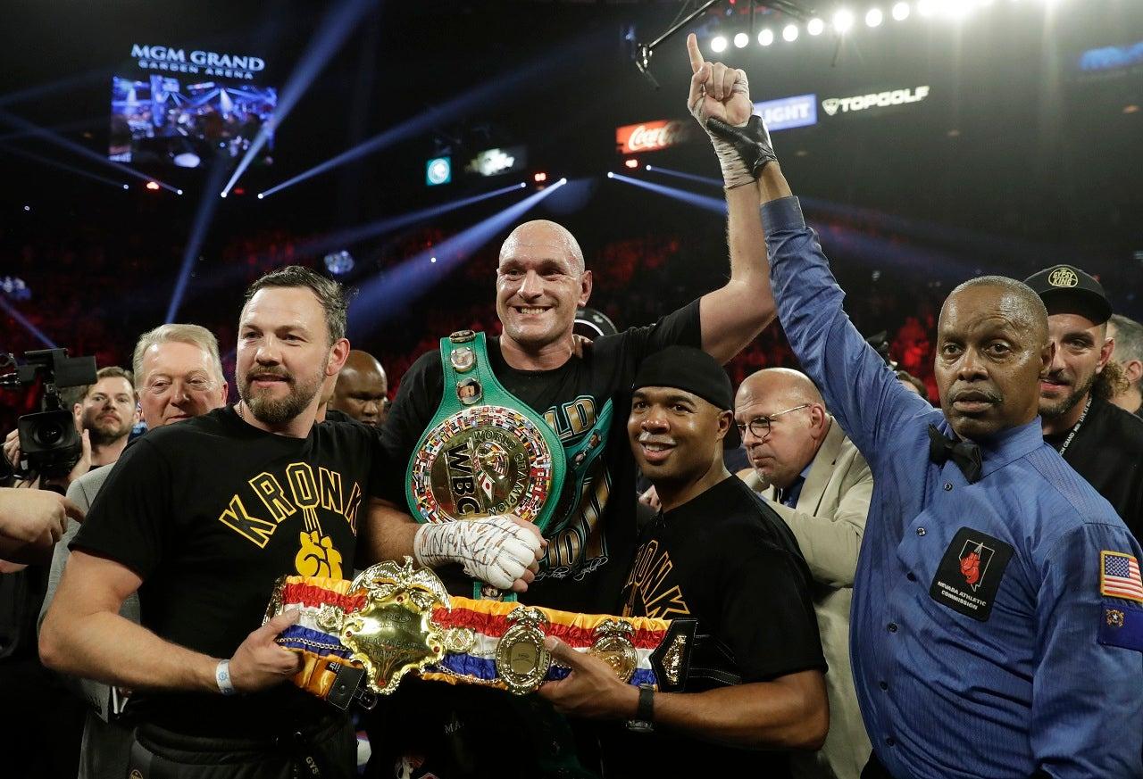 Fury beats Wilder in fight that drew heavyweight record $16.9M gate