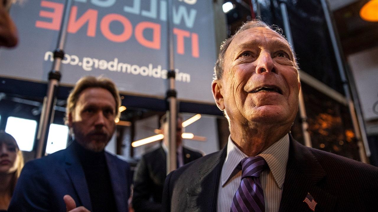 Bloomberg qualifies for Las Vegas debate as Sanders...