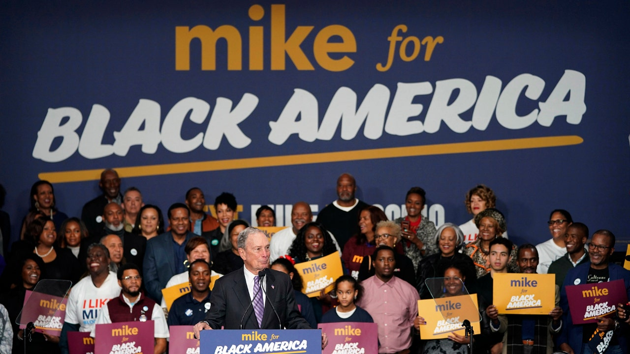 Bloomberg says enormous cohort of black and Latino...